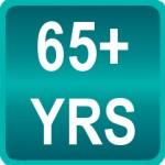 65 ans et plus : Vieillards