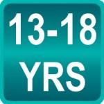 13-18 ans : Adolescents
